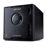 BUFFALO LinkStation Pro Quad 4-Bay Gigabit Network Attached Storage (NAS)
