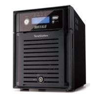 BUFFALO TeraStation ES TS-XE8.0TL/R5 4 TB Gigabit Ethernet RAID Network Attached Storage (NAS) Refurbished