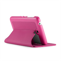 Speck Products Samsung Galaxy Tab 3 7.0 - FitFolio - Raspberry Pink Vegan Leather