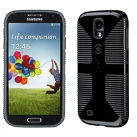 Speck Products CandyShell Grip for Samsung Galaxy S 4 - Black/Slate Grey
