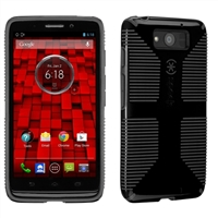 Speck Products CandyShell Grip for Motorola Droid Ultra - Black/Slate Grey