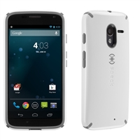 Speck Products CandyShell for Motorola Moto-X  - White/Gravel Grey