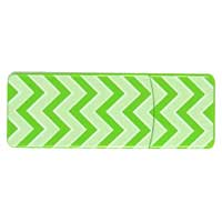 Emtec International 8GB  Swivel Series USB Flash Drive - Green Zig Zag