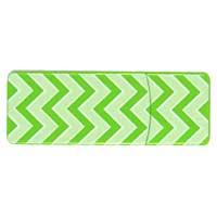 Emtec International 8GB  Swivel Series USB Flash Drive - Green Zig Zag