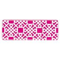 Emtec International 8GB Swivel Series USB Flash Drive - Pink Geometric