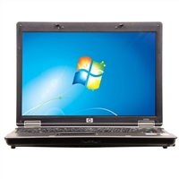"HP 6530B Windows 7 Professional 14.1"" Laptop Computer Refurbished - Gray"