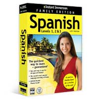 TOPICS Entertainment Instant Immersion Spanish 1-2-3 Family Edition (PC/MAC)