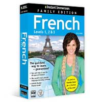TOPICS Entertainment Instant Immersion French 1-2-3 Family Edition (PC/Mac)