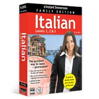 TOPICS Entertainment Instant Immersion Italian 1-2-3 Family Edition