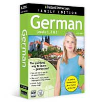 TOPICS Entertainment Instant Immersion German 1-2-3 Family Edition (PC/Mac)