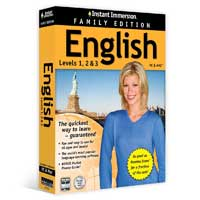 TOPICS Entertainment Instant Immersion English 1-2-3 Family Edition (PC/Mac)