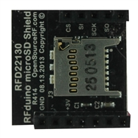 RF Digital micro SD Shield Accessory Board
