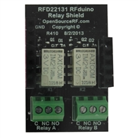 RF Digital Dual Relay Shield Accessory Board for RFduino