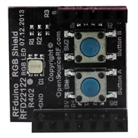 RF Digital RGB Push button Shield Accessory Board