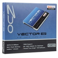 "OCZ Storage Solutions Vector 150 Series 120GB SATA III 6Gb/s 2.5"" Internal Solid State Drive VTR150-25SAT3-1"
