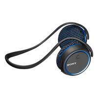 Sony MDRAS700BT/L Bluetooth Wireless Sports Headset - Black/Blue
