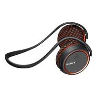 Sony MDRAS700BT/O Bluetooth Wireless Sports Headset - Black/Orange