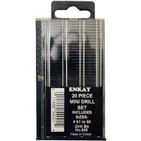 Enkay Products Mini Drill Set - 20pc