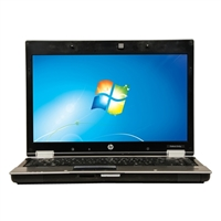 "HP EliteBook 8440p 14"" Windows 7 Professional Laptop Computer Refurbished - Black"