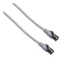 Belkin CAT6 Gray Snagless UTP Round Network Cable - 50 ft