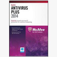 McAfee Antivirus 2014 - 3PC (PC)