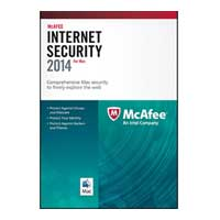 McAfee McAfee Internet Security 2014 For Mac