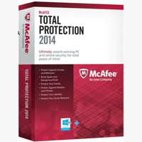McAfee Total Protection 2014 1PC