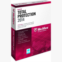 McAfee Total Protection 2014 - 3PC