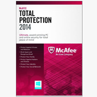 McAfee McAfee Total Protection 1PC Family Protection Bundle 2014