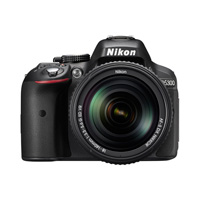 Nikon D5300 24.2 Megapixel DSLR Camera with 18-140mm VR Lens