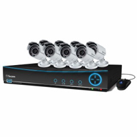 Swann Communications DVR9-4200 9 Channel 960H Digital Video Recorder and  8 x PRO-642 Cameras
