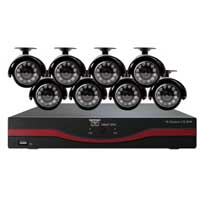 Night Owl LTE-168500 16 Channel LTE DVR with 500GB Hard Drive 8 x Indoor/Outdoor Night Vision Cameras