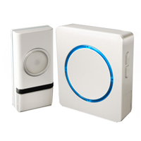 Swann Communications Wireless Door Chime with Compact Backlit Design