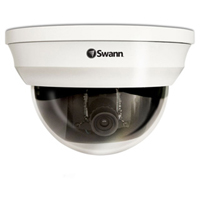 Swann Communications SWPRO-761CAM 6mm CCD 700 TV Lines Indoor/Outdoor Dome Security Camera with 114ft Night Vision
