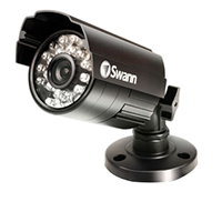 Swann Communications PRO-530 4.8mm CMOS 600 TV Lines Indoor/Outdoor Security Camera with 65ft Night Vision