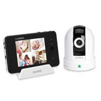 Lorex LIVE Sense Video Baby Monitor with Pan & Tilt Wireless Camera