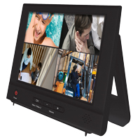 "Night Owl 2 Channel 8"" Color LCD Security Monitor with Audio"