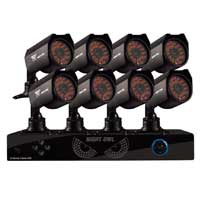 Night Owl S16-8624-1TB 16 Channel DVR with 1TB Hard Drive and 8 x Indoor/Outdoor Night Vision Security Cameras