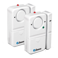 Swann Communications Magnetic Window and Door Alarm 2-Pack