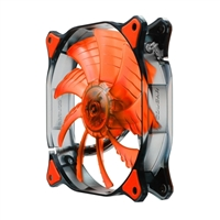 H.E.C. Cougar CFD12HBR 120mm Ultra Silent Case Fan - Red LED
