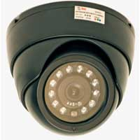 Q-See CMOS Night Vision Dome Color Camera