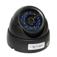 EP Technology CM-C12553BK Color CMOS Indoor Dome Security Camera