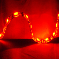 "Logisys 12i"" RED LED Molex Self-adhesive Flexible & Extendable Strip"