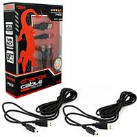 Innex PS3 Charge Cable 9ft. Twin Pack