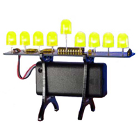 Evil Mad Science Deluxe LED Menorah Kit