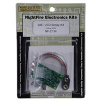 Nightfire SMT LED Blinky PCB Kit - Yellow