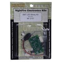 Nightfire SMT LED Blinky PCB Kit - Red