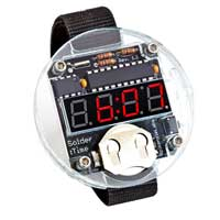 SpikenzieLabs Solder Time Watch Kit