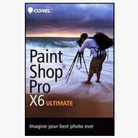 Corel PaintShop Pro v.X6.0 Ultimate (PC)