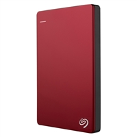 Seagate Backup Plus 2TB 5,400 RPM SuperSpeed USB 3.0 Portable Drive STDR2000103 - Red